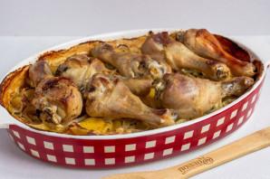 Курица в сливках с картофелем - фото шаг 9