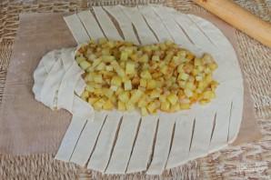 Кулебяка с картошкой - фото шаг 14