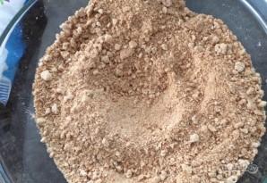 Пирог из крекеров со сгущенкой и шоколадом - фото шаг 2
