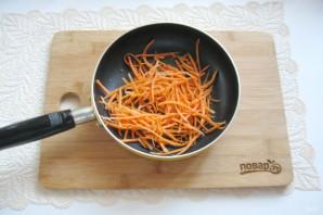 Салат с языком и морковью - фото шаг 5