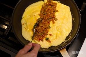 Японский омлет с рисом - фото шаг 4