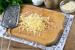Слоеный салат с фасолью - фото шаг 4