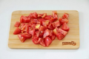 Куриный рулет с сыром и томатами - фото шаг 3