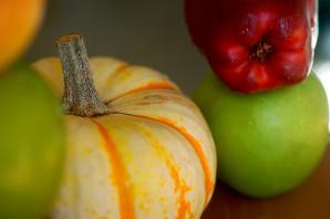 Пюре из тыквы и яблок - фото шаг 1