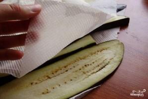 Жареные баклажаны с чесноком - фото шаг 3