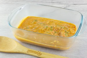 Филе куриной грудки под сливочно-томатным соусом - фото шаг 4