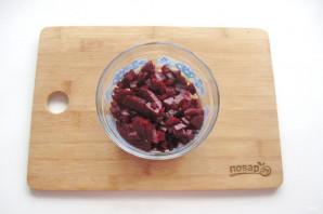 Салат из свеклы и помидоров - фото шаг 3