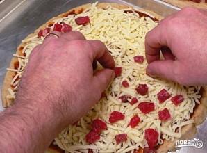 Пицца с мясом - фото шаг 11