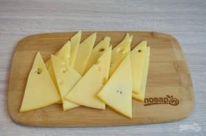 Сырная нарезка к вину - фото шаг 3