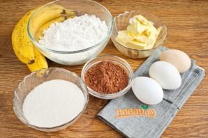 Шоколадный банановый хлеб - фото шаг 1