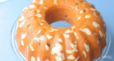 Дрожжевой пирог с орехами - фото шаг 9