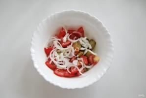 Салат с помидорами и баклажанами - фото шаг 5