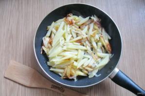 Картошка жареная с луком и чесноком - фото шаг 4
