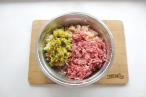 Мясные котлеты с овощами - фото шаг 6