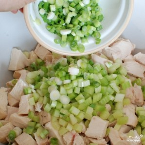 Куриный салат с соусом карри - фото шаг 6