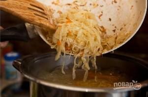 Суп из кислой капусты - фото шаг 3