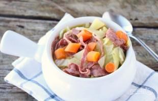 Суп из капусты с мясом - фото шаг 5