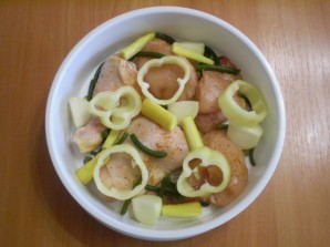 Курица с овощами на пару - фото шаг 4