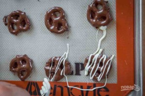 Претцель в шоколаде - фото шаг 8