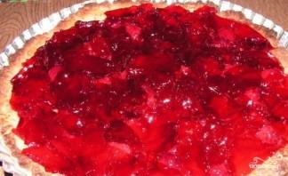 Пирог с ягодным желе - фото шаг 5