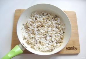 Духовые пирожки с грибами и рисом - фото шаг 12
