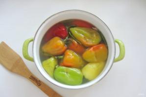 Квашеный болгарский перец на зиму целиком - фото шаг 8