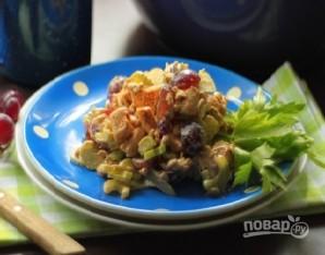 Салат с курицей и сельдереем - фото шаг 8