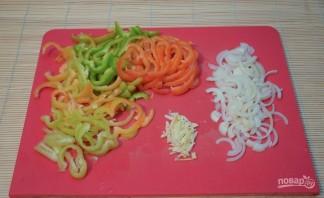 "Турецкий горох ""Нут"" с овощами - фото шаг 2"