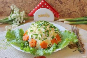 Мясной салат с маринованным луком - фото шаг 13