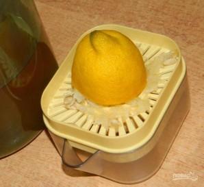Имбирный чай с яблоками и грушами - фото шаг 3