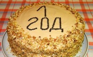 Торт на день рождения девочке 1 год - фото шаг 23