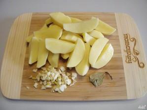 Куриная грудка с картошкой в мультиварке - фото шаг 5