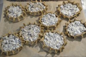 Перепечи с грибами - фото шаг 20