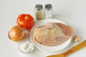 Диетическая куриная запеканка в духовке - фото шаг 1