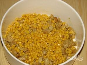 Салат из ананасов с курицей - фото шаг 5