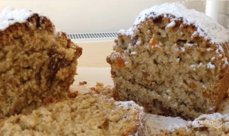 Кекс с орехами и сухофруктами - фото шаг 8