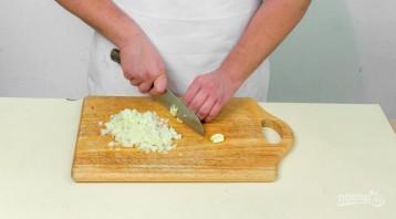 Томатный суп с горбушей и оливками - фото шаг 1