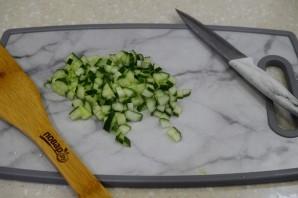 Салат из киноа с тунцом - фото шаг 3