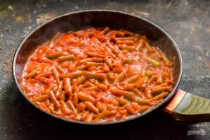 Стручковая фасоль в томатном соусе - фото шаг 7