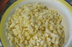Манты с картошкой и мясом - фото шаг 1