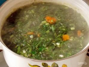 Суп с крапивой - фото шаг 6