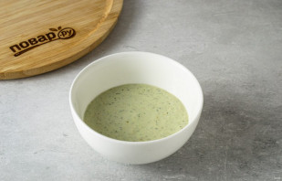 Салат с рукколой и тофу - фото шаг 6