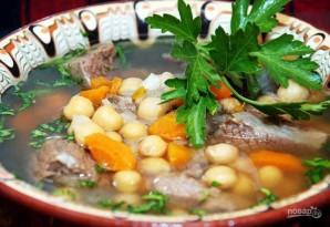 Суп с мясом и нутом - фото шаг 6
