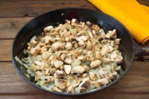 Пирожки с лесными грибами - фото шаг 4