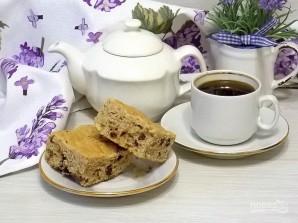 Арахисовый пирог с орехами и шоколадом - фото шаг 6