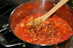 Морской окунь с овощным рагу - фото шаг 2