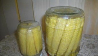 Закатка кукурузы - фото шаг 6