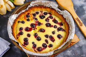 Пирог с голубикой и сметанной заливкой - фото шаг 8