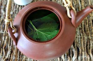 Чай с листьями смородины - фото шаг 4