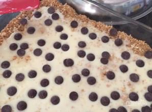 Пирог из крекеров со сгущенкой и шоколадом - фото шаг 6